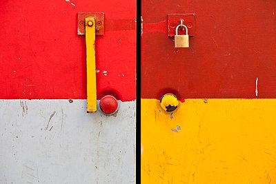 Door detail in Regensburg, Germany - p644m717796 by Carlos Sanchez Pereyra