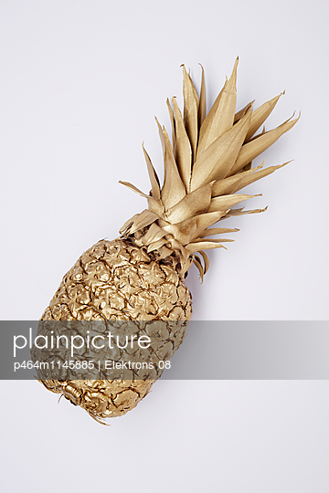 goldene Ananas - p464m1145885 von Elektrons 08