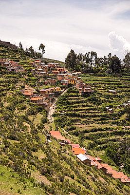 Bolivien, Isla del Sol, Dorf - p1643m2229363 von janice mersiovsky