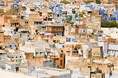 Houses in jodhpur - p9246528f by Image Source