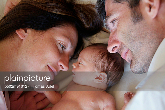 Kleinfamilie - p502m918127 von Tomas Adel