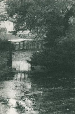 Germany, North Rhine-Westphalia, Düsseldorf, Benrath, Palace garden, Bridge - p1677m2258951 by nina e. reiter