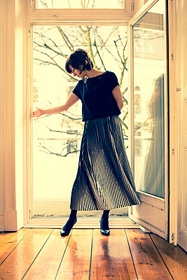 Dancing at home - p432m894020 by mia takahara