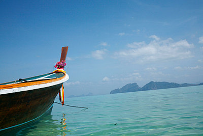 Verankertes Fischerboot - p6060039 von Iris Friedrich