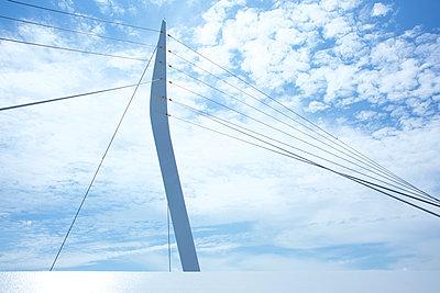 Schrägseilbrücke, Ortenau-Brücke - p606m2008386 von Iris Friedrich