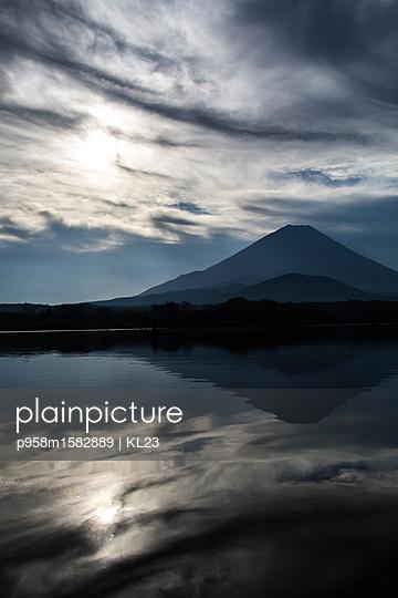 Vulkan in der Dämmerung - p958m1582889 von KL23
