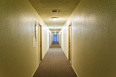 Long hallway  - p1177m1221033 by Philip Frowein