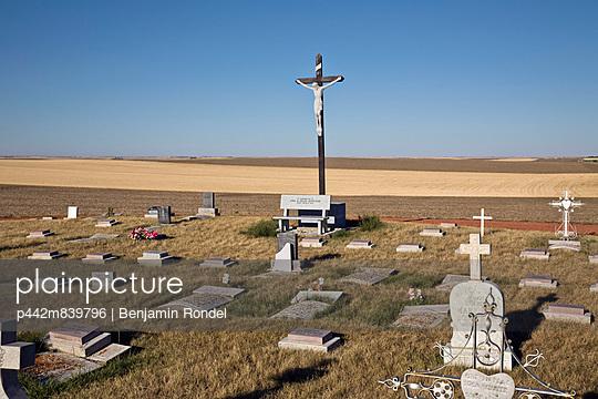 Catholic cemetery; Saskatchewan, Canada