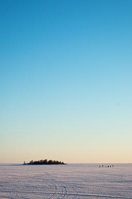 Auf dem zugefrorenen Bottnischen Meerbusen - p1079m1182238 von Ulrich Mertens