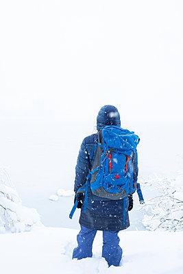 Schnee Tour - p454m2076583 von Lubitz + Dorner