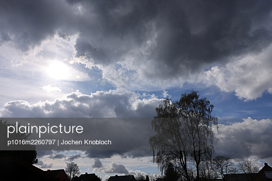 Thunderclouds in spring - p1016m2260797 by Jochen Knobloch