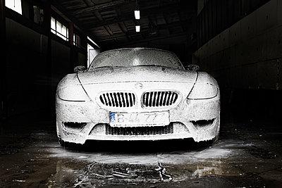 Maskierung, BMW Z4 - p1123m1093245 von Johannes Kruse