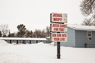Jesus sign - p1291m1548060 by Marcus Bastel