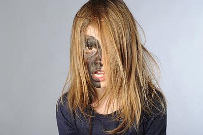 Bemaltes Gesicht - p56710502 von Ilka Kramer