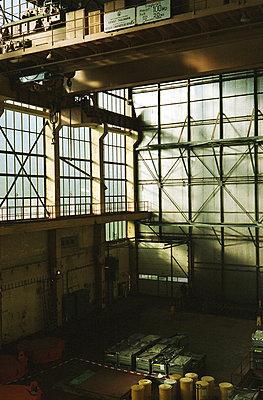 reaktorhalle im kernkraftwerk - p6270307 von bobsairport