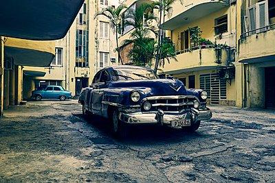 Oldtimer in Havana - p1171m1461925 by SimonPuschmann