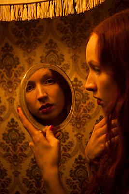 Selbstbetrachtung - p045m1208196 von Jasmin Sander