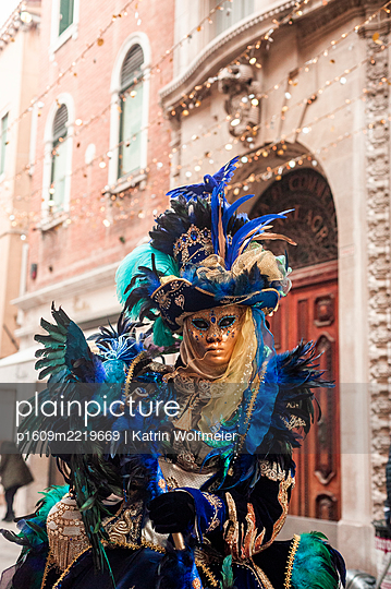 Carnival of Venice - p1609m2219669 by Katrin Wolfmeier
