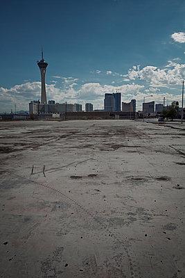 Brachfläche in Las Vegas - p1525m2087436 von Hergen Schimpf