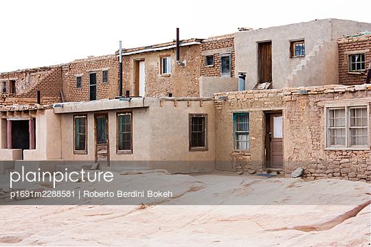 acoma pueblo - p1691m2288581 by Roberto Berdini Bokeh