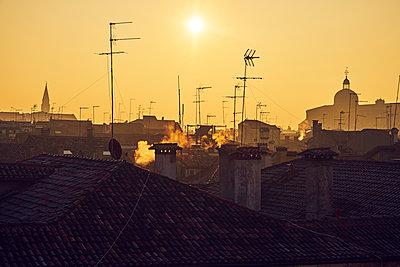 Sunset in Venice - p1312m1575233 by Axel Killian