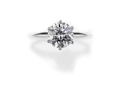 Round Cut Diamond Engagement Ring - p6945543 by Spencer Jones
