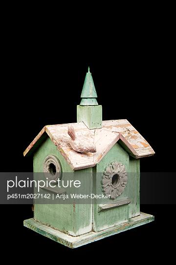 Vogelhäuschen - p451m2027142 von Anja Weber-Decker