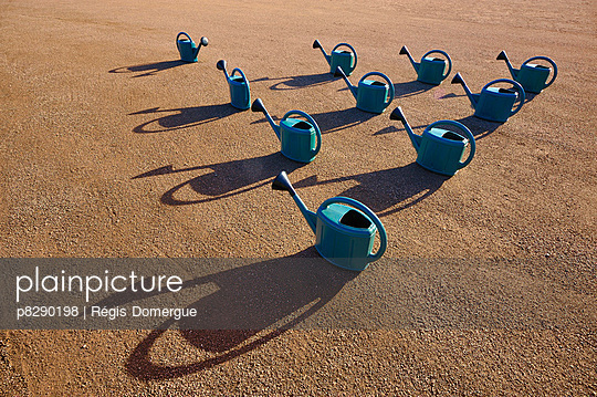 Watering cans - p8290198 by Régis Domergue