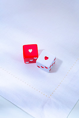 Heart dices - p1149m2253997 by Yvonne Röder