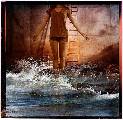 Hochwasser - p1693m2291271 von Fran Forman