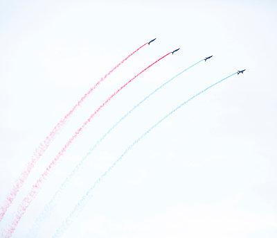 Flugshow, Armée de l'Air, Patrouille de France - p1113m959699 von Colas Declercq