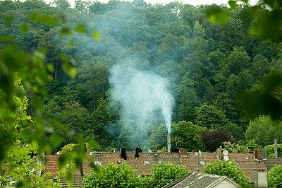 Weißer Rauch - p1164m951952 von Uwe Schinkel