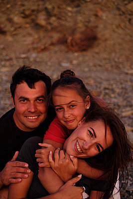 Portrait family outdoors - p1363m2142672 by Valery Skurydin