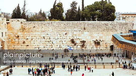 Jerusalem - p416m1498082 von Jörg Dickmann Photography