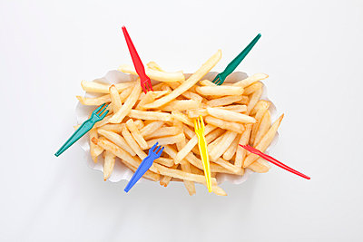 French fries for a group - p4541063 by Lubitz + Dorner