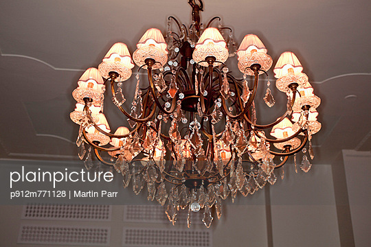 Chandelier - p912m771128 by Martin Parr