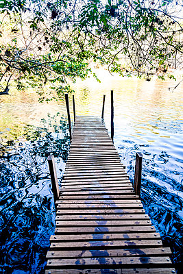 Jetty on the lakefront - p1170m1111635 by Bjanka Kadic