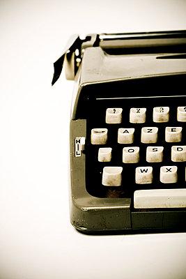 Anschnitt einer Schreibmaschine - p4450306 von Marie Docher