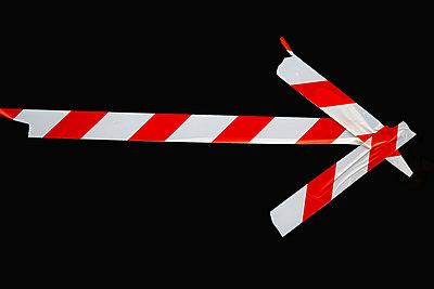 Caution tape - p450m1223634 by Hanka Steidle