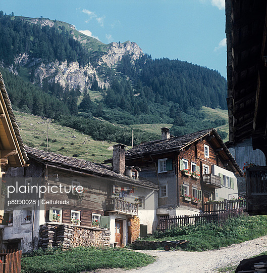 Alpenidylle - p8990028 von Celluloids