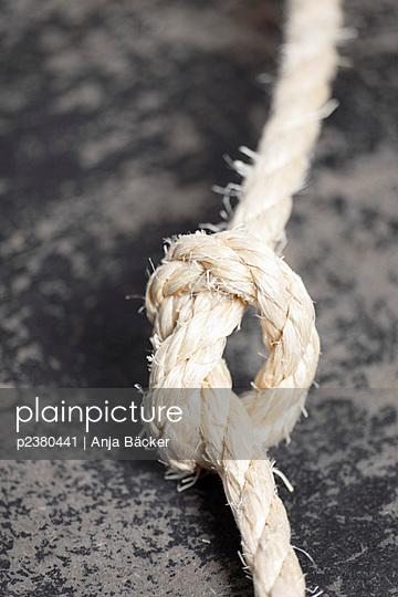 Knoten - p2380441 von Anja Bäcker
