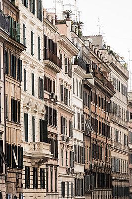Row of houses in Rome - p081m881203 by Alexander Keller