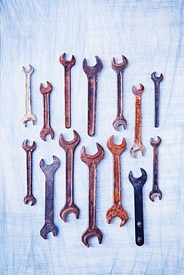 Screw wrenches - p1149m2021460 by Yvonne Röder