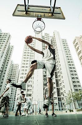 Basketball - p1202m1061250 von Jörg Schwalfenberg