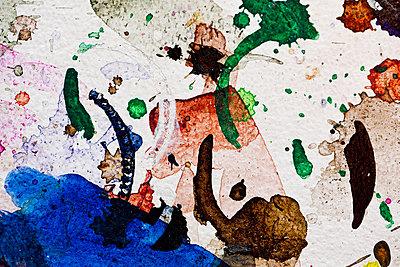 Farbkleckse - p1195m1195472 von Kathrin Brunnhofer