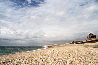 Chesil Beach - p1309m1146267 by Robert Lambert