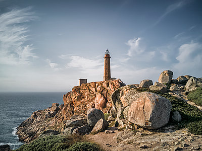 Lighthouse at the Kap Vilan - p1487m2016005 by Ludovic Mornand