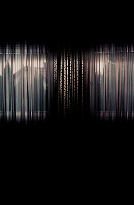 Closed curtain - p1279m1466887 by Ulrike Piringer