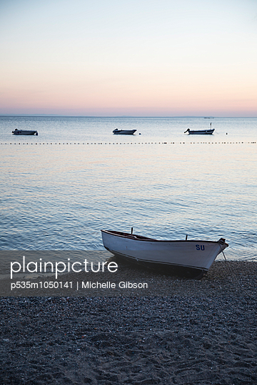 Boat - p535m1050141 by Michelle Gibson
