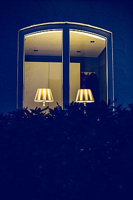 Illuminated window - p1621m2264001 by Anke Doerschlen